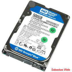 disco rigido 500gb sata p