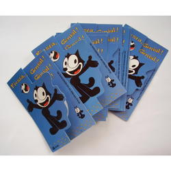 Felix the Cat Greeting Cards Set Spanish