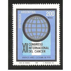ARGENTINA 1978(1142) CONGRESO DEL CANCER ,IMT