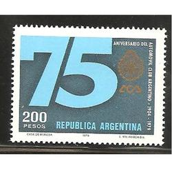 ARGENTINA 1979(1177) 75ANIV. AUTOMOVIL CLUB MINT