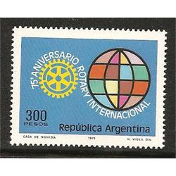 ARGENTINA 1979(1207) 75ANIV DEL ROTARY MINT