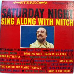Disco Vinilo LP. Mitch Miller Saturday Night-USA.1960 Stereo