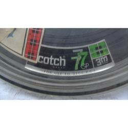 Cinta Datos Scotch 777 Carrete Abierto 11-Antiguo- Vintage