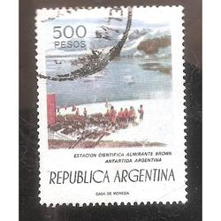 ARGENTINA 1976 (MT1076) BASE ALMIRANTE BROWN  USADA