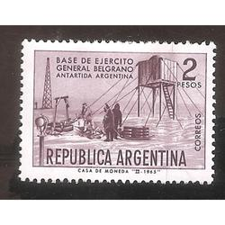 ARGENTINA 1965 (MT703) BASE GENERAL  BELGRANO,  USADA
