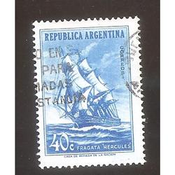 ARGENTINA 1957 (MT573) MUERTE DE GUILLERMO BROWN  $0,40  USA