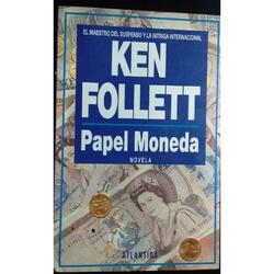 Libro Papel Moneda De Ken Follett  pilarsur
