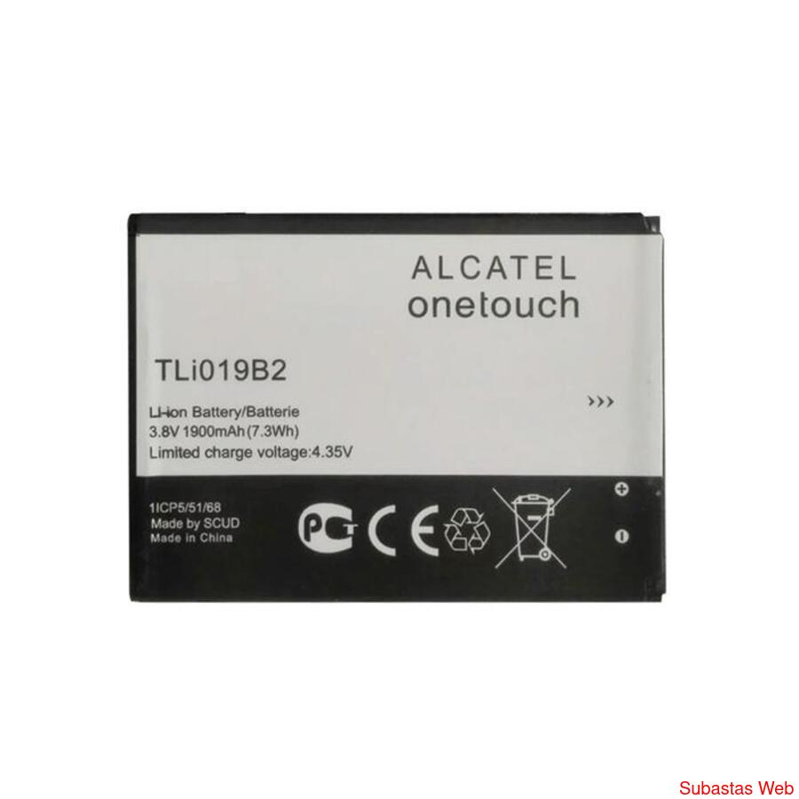 Subasta Imperdible! Bateria Alcatel TLI019B2 para Pop C7 3.8